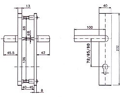 Фурнитура R1/R4 схема
