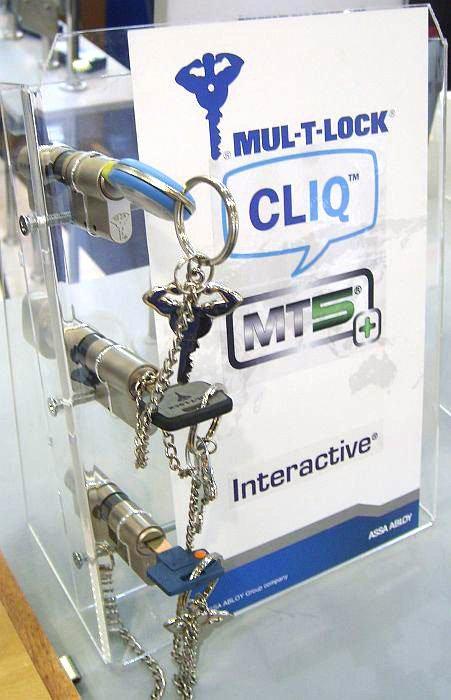 «Мультилок» поступает аналогично с презентацией своей системы «клик».
