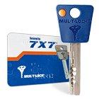 Особенности ключа MUL-T-LOCK 7x7
